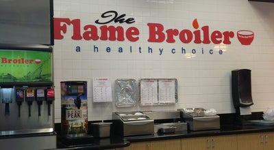 Photo of Asian Restaurant Flame Broiler at 15110 Rosecrans Ave, La Mirada, CA 90638, United States