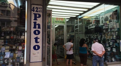 Photo of Electronics Store 42 Street Photo at 378 5th Ave, New York, NY 10018, United States