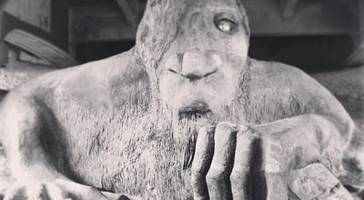 Photo of Outdoor Sculpture The Fremont Troll at Fremont Way N, Seattle, WA 98103, United States