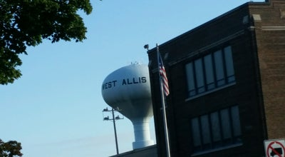 Photo of Monument / Landmark West Allis Water Tower at West Allis, WI 53214, United States