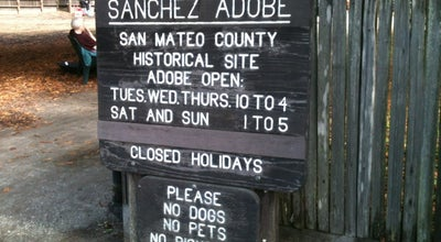 Photo of Historic Site Sánchez Adobe at 1000 Linda Mar Blvd, Pacifica, CA 94044, United States