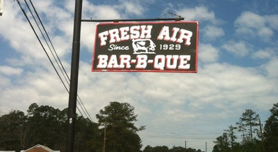 Photo of American Restaurant Fresh Air Bar-B-Que at 1164 Highway 42 S, Jackson, GA 30216, United States