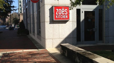 Photo of Mediterranean Restaurant Zoës Kitchen at 1819 5th Ave N, Birmingham, AL 35203, United States