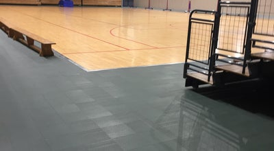 Photo of Basketball Court Salle Edgard Hismans at Rue De L'egalité, 96, Quaregnon 7390, Belgium
