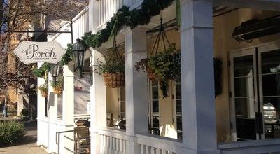 Photo of American Restaurant The Porch Restaurant & Bar at 1815 K St, Sacramento, CA 95811, United States