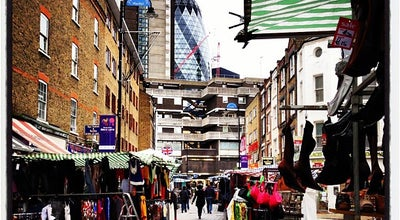 Photo of Flea Market Petticoat Lane Market at Wentworth St., Brick Lane E1 7HT, United Kingdom