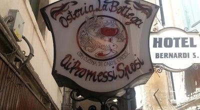 Photo of Italian Restaurant La Bottega Ai Promessi Sposi at Sestiere Cannaregio, 4367, Venezia 30121, Italy