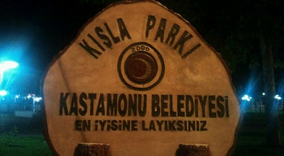 Photo of Park Kışla Parkı at Kastamonu, Turkey