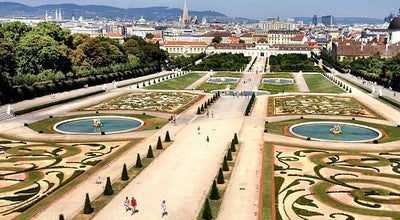 Photo of Garden Schlossgarten Belvedere at Prinz-eugen-str. 27, Wien 1030, Austria