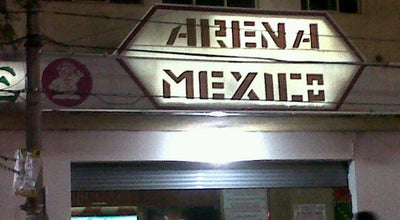 Photo of Stadium Arena México at Dr. Lavista 197, Cuauhtémoc 06720, Mexico