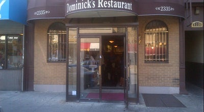 Photo of Italian Restaurant Dominick's Restaurant at 2335 Arthur Ave, Bronx, NY 10458, United States