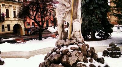 Photo of Outdoor Sculpture Neptúnova fontána at Hlavná, Prešov 080 01, Slovakia
