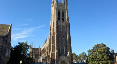 Photo of Tourist Attraction Duke University at Durham, NC, United States