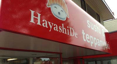 Photo of Sushi Restaurant HayashiDe Sushi & Teppanyaki at Hessenweg 181c, De Bilt, Netherlands