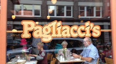 Photo of Italian Restaurant Pagliacci's at 1011 Broad St, Victoria, BC V8W 2A1, Canada