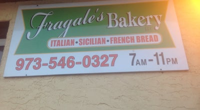Photo of Bakery Fragale's Baking Company at 68 Gaston Ave, Garfield, NJ 07026, United States