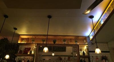 Photo of French Restaurant David's Cafe at 110 Saint Marks Pl, New York, NY 10009, United States