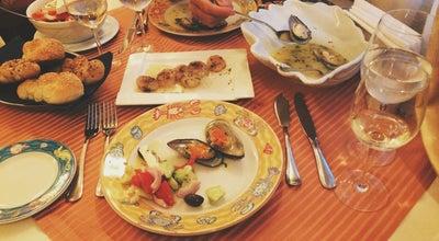 Photo of Seafood Restaurant Mesogios at Strada Ziarist Calderon Jean Louis 49, Bucharest 020033, Romania