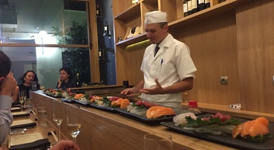 Photo of Sushi Restaurant sushimou at Σκούφου 6, Athens 105 57, Greece