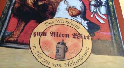 Photo of German Restaurant Alter Wirt at Taufkirchener Str. 4, Hohenbrunn 85662, Germany