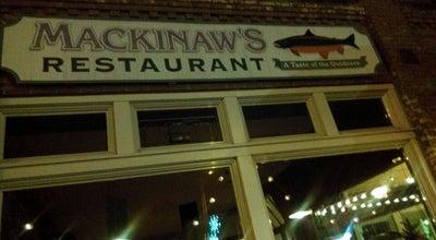 Photo of Italian Restaurant Mackinaws at 545 Market St, Centralia, WA 98531, United States
