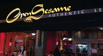 Photo of Mediterranean Restaurant Open Sesame at 5215 E 2nd St, Long Beach, CA 90803, United States