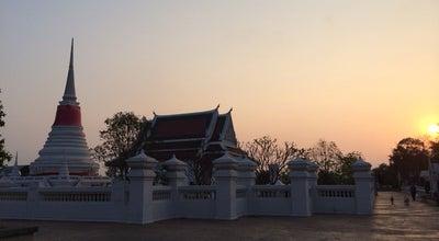 Photo of Buddhist Temple วัดพระสมุทรเจดีย์ (Wat Phra Samut Chedi) at Moo 3 Suksawat Rd., Phra Samut Chedi 10290, Thailand