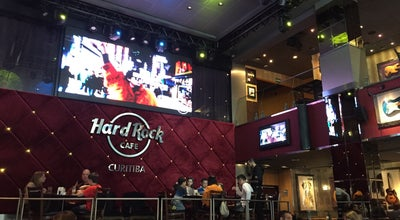 Photo of American Restaurant Hard Rock Cafe Curitiba at R. Buenos Aires, 50, Curitiba 80250-070, Brazil