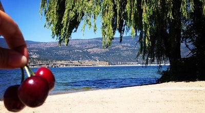 Photo of Beach Strathcona Park at 2290 Abbott St., Kelowna, BC, Canada