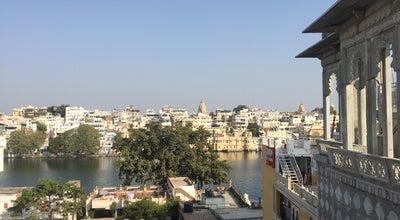Photo of Roof Deck Udai Kothi Hotel at India
