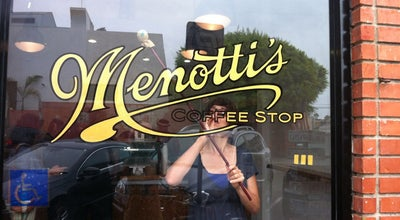 Photo of Cafe Menotti's Coffee Stop at 56 Windward Ave, Venice, CA 90291, United States