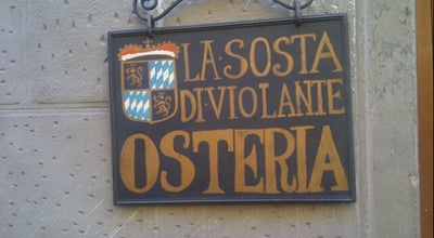 Photo of Italian Restaurant La Sosta Di Violante at Italy