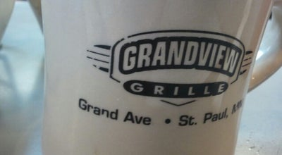 Photo of Breakfast Spot The Grandview Grill at 1818 Grand Ave, Saint Paul, MN 55105, United States