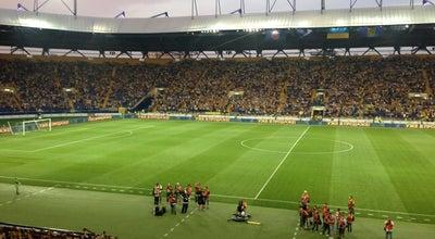 Photo of Soccer Stadium VIP Зона ОСК «Металіст» at Вул. Плеханiвська, 65, Харків, Ukraine