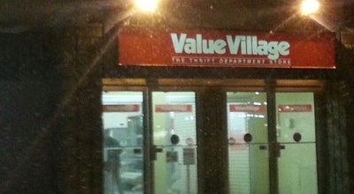 Photo of Thrift / Vintage Store Value Village at 942 Jefferson Ave., Winnipeg, MB R2P 1W1, Canada