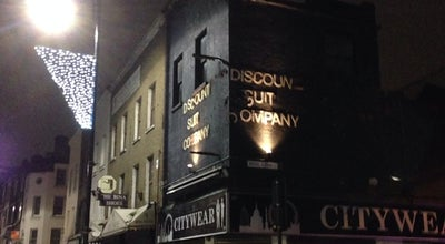Photo of Cocktail Bar Discount Suit Company at 29 Wentworth St, London E1 7TB, United Kingdom