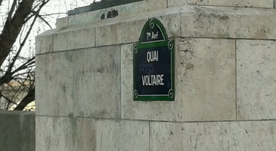 Photo of Road Quai Voltaire at Quai Voltaine, Paris 75007, France