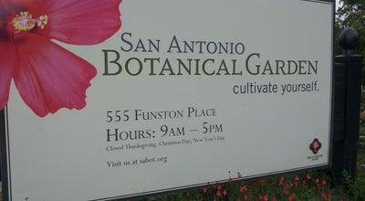 Photo of Botanical Garden San Antonio Botanical Garden at 555 Funston Pl, San Antonio, TX 78209, United States