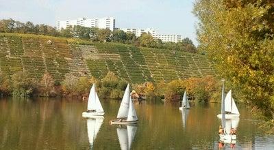 Photo of Lake Max-Eyth-See at Max-eyth-steg, Stuttgart 70378, Germany