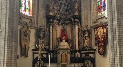 Photo of Church Onze-Lieve-Vrouw van Goede Bijstandkerk / Église Notre-Dame de Bon Secours at Kolenmarkt / Rue Du Marché Au Charbon, Brussels 1000, Belgium