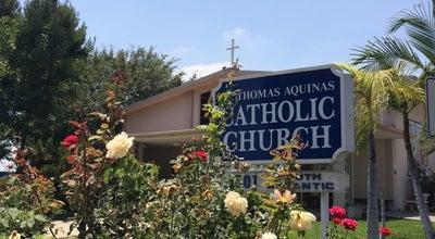 Photo of Church St. Thomas Aquinas Catholic Church at 1501 S Atlantic Blvd, Monterey Park, CA 91754, United States