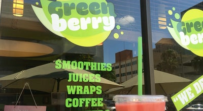 Photo of Juice Bar Green Berry at 305 Alcazar Ave #1, Coral Gables, FL 33134, United States