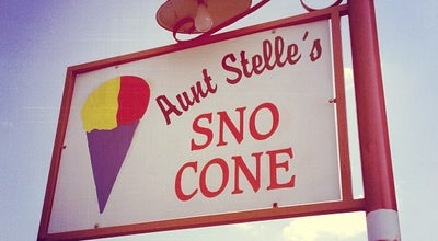 Photo of Dessert Shop Aunt Stelle's Sno Cone at 2002 W Clarendon Dr, Dallas, TX 75208, United States