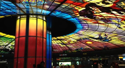 Photo of Monument / Landmark 光之穹頂 The Dome of Light at 美麗島站 Formosa Boulevard Station, Kaohsiung City, Taiwan