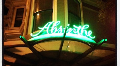 Photo of French Restaurant Absinthe Brasserie and Bar at 398 Hayes St, San Francisco, CA 94102, United States
