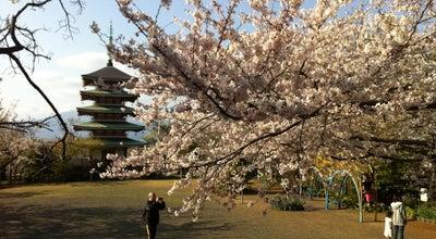 Photo of Trail 香貫山香陵台平和塔 at 上香貫, 沼津市, Japan