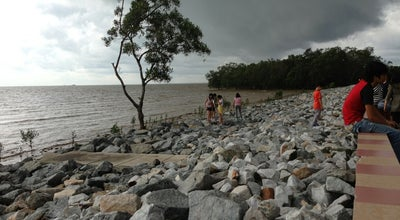 Photo of Beach Pontian Sea Side at Malaysia
