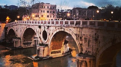 Photo of Bridge Ponte Sisto at Ponte Sisto, Roma 00186, Italy
