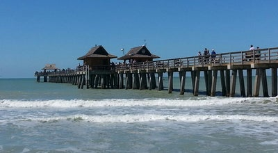 Photo of Beach Beach By Naples Pier at Naples, FL 34102, United States