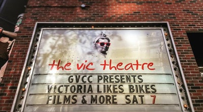 Photo of Indie Movie Theater The Vic Theatre at 808 Douglas St, Victoria, BC V8W 2B6, Canada